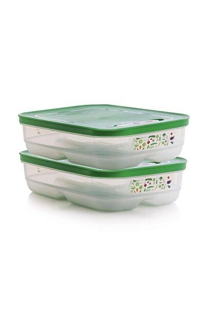 Tupperware Sera Buzdolabı Saklama Kabı Yatay 2 X1.8 Lt