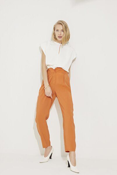 adL Kadın Coral Yüksek Bel Pantolon