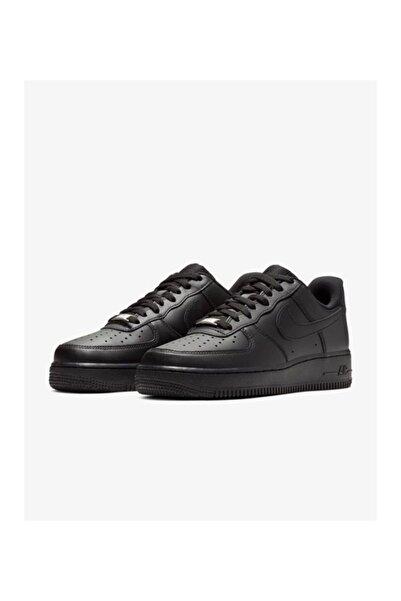 Nike Air Force 1 Siyah Erkek Günlük Spor Ayakkabı
