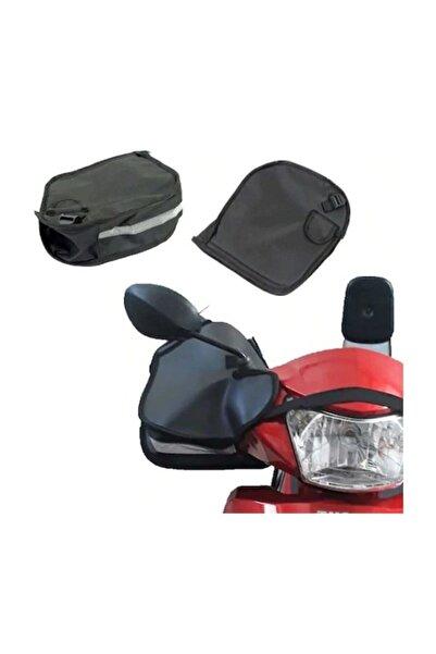 Ksburda Motorsiklet Scooter Ve Cup Uyumlu Reflektörlü El Koruma Elcik