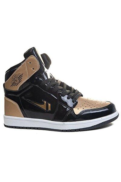 Lambırlend Aır Jordan Boğazlı Unısex Cilt Spor Ayakkabı