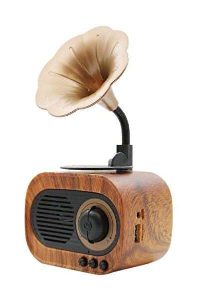 Forland B5 Nostaljik Mini Radyo Gramofon Bluetooth/radyo/usb/sd Speaker