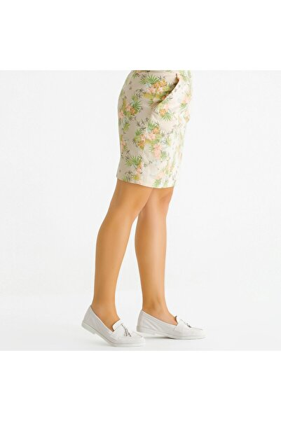 KEMAL TANCA Kadın Derı Loafer Ayakkabı 775 5100 Byn Ayk Y21