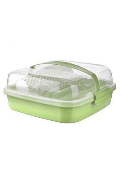Titiz Plastik Titiz Lovely Piknik Seti 6 Kişilik 32 Parça
