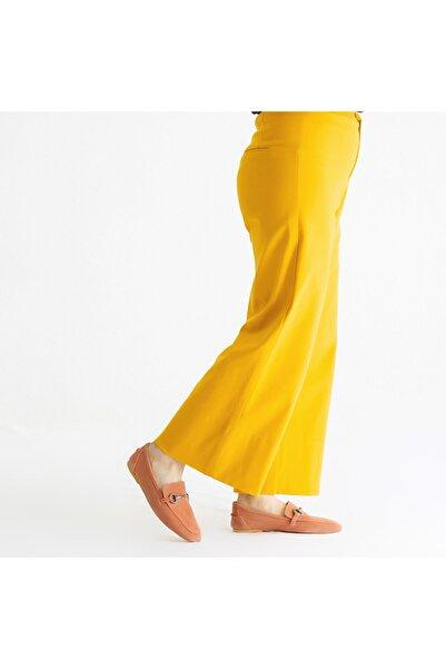 KEMAL TANCA Kadın Pembe Deri Loafer Ayakkabı 825 102 Byn Ayk Y21