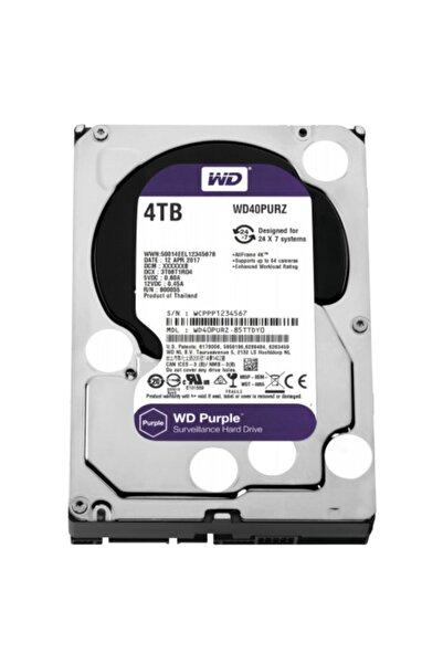 """WESTERN DIGITAL Wd Purple Wd40purz 3,5"""" 4tb, 64mb, 5400 Rpm, 7/24 Güvenlik Hdd"""