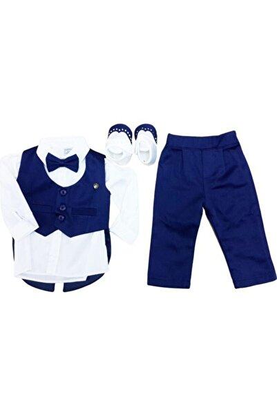 Pugi Baby Erkek Çocuk Lacivert Mevlüt Kıyafeti