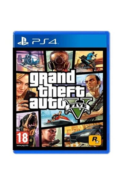 RockStar Games Gta V Ps 4