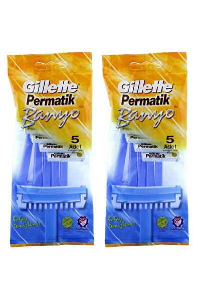 Gillette Permatik Banyo 5 Li Poşet X 2 Adet