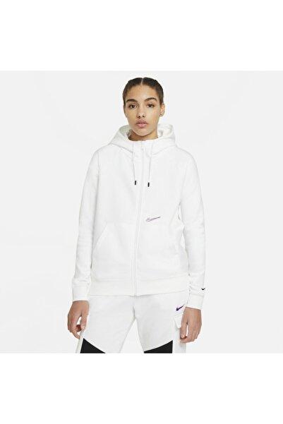 Nike Nıke Sportswear Essential Print Kadın Ceket Dj4120-100