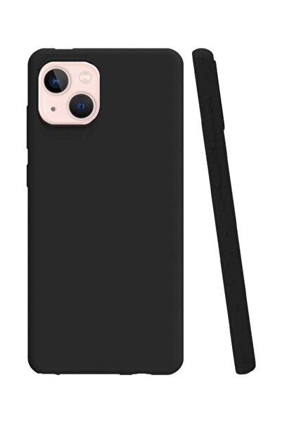 MobilCadde Iphone 13 Siyah Silikon Kılıf