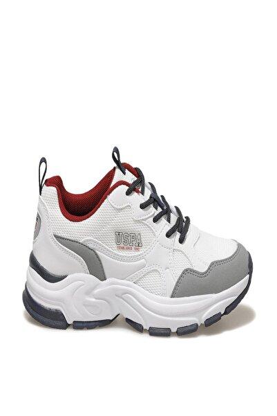 U.S. Polo Assn. Fox Yan Yazılı Arka Bayraklı Bagcıklı Spor Ayakkabı