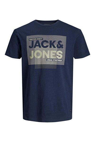 Jack & Jones Jack&jones 12190149 Onu Yazılı 0 Yaka Kısa Kol Tshır