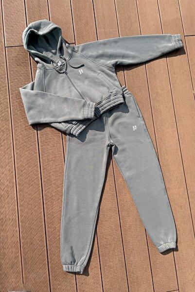Eazy Clothes Eazy Kadın Basic Lastikli Eşofman Takımı