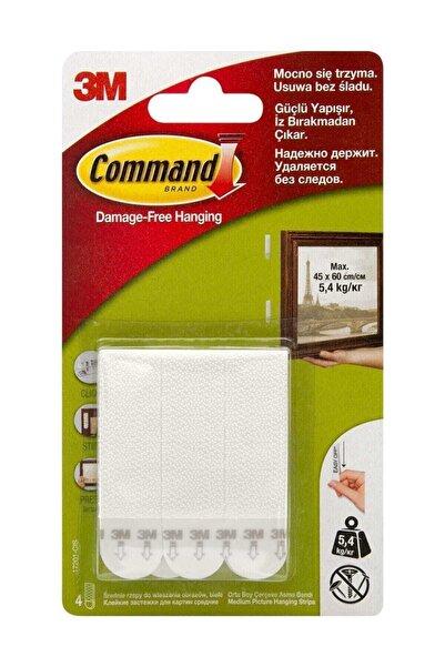 3M Command  Orta Boy Cırt Cırt Bant (17201-4Pk)