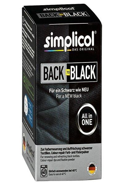 simplicol Konsantre Siyaha Dönüş Kot, Kanvas, Keten, T-shirt, Kumaş Boyası Ve Sabitleştirici Toz