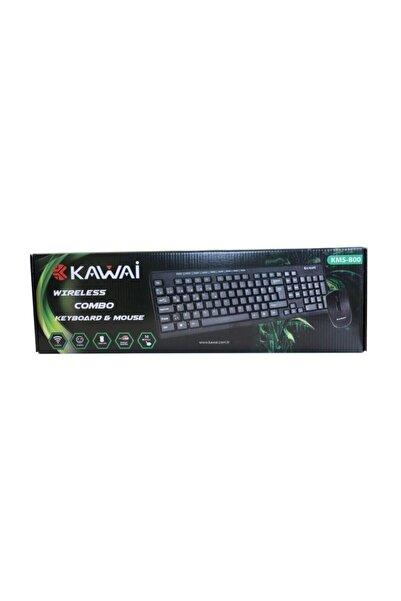 Kawai Kablosuz Klavye Mouse Seti Multimedia Tuşlu Kms-800
