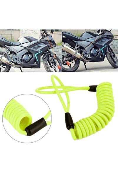 Arzu / Monero Motosiklet Disk Kilidi Güvenlikli Hatırlatma Kablosu | Yüksek Kalite | Anti-theft Tasarım
