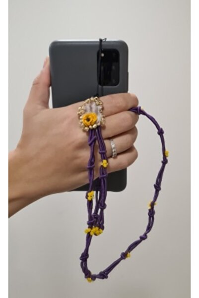 Leylace Kısa Telefon Askısı -1