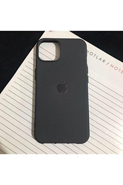Mislina Iphone 13 Siyah Logolu Kapak Kılıf