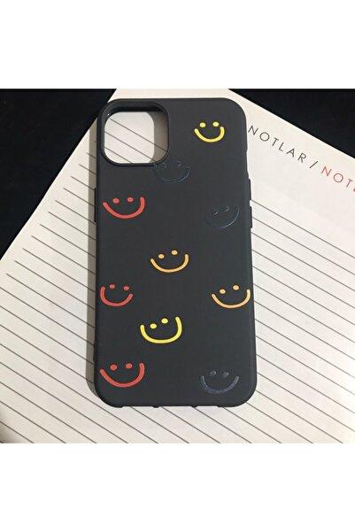Mislina Iphone 13 Gülen Yüz Desenli Kapak Kılıf