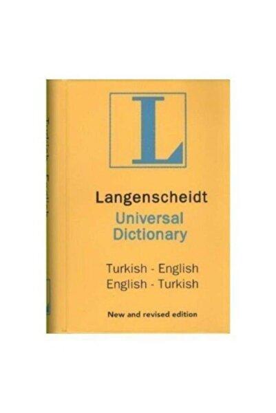 ALTINBAŞAK HOME COLLECTİON Langenscheidt's Universal Dictionary English - Turkish / Turkish - English H. J. Kornrumpf