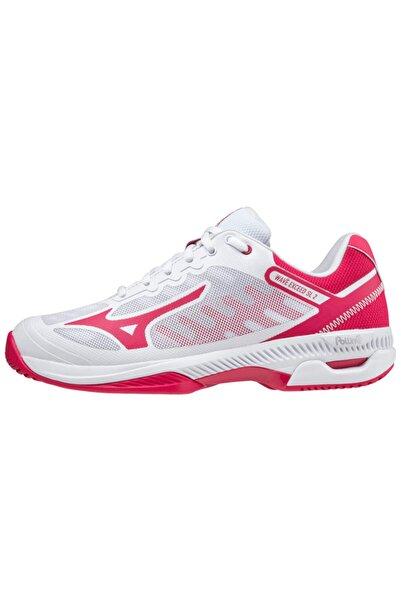 MIZUNO Wave Exceed Sl 2 Ac Kadın Tenis Ayakkabısı Beyaz/kırmızı