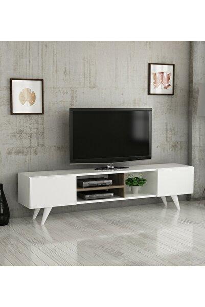 Haus Modüler Haus Leo Tv Ünitesi - Beyaz