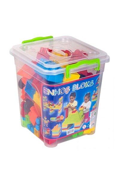 LEGO Enhoştoys Mega Blok Zeka Geliştirici Eğitici Oyuncak 70 Parca