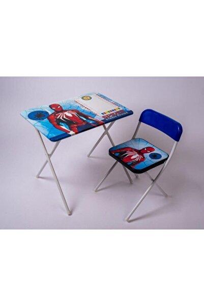 POKY BEBE Çocuk Ders Çalışma Masası Ve Sandalyesi Spider Street Style