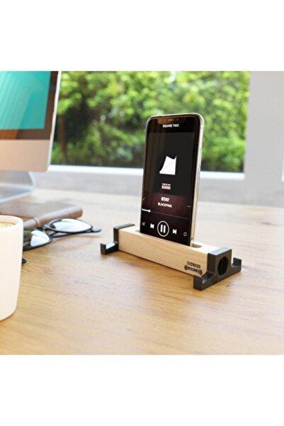 SEOWOOD Ahşap Akustik Telefon & Tablet Standı. Ses Artırma Ve Sese Akustik Katma Özelliği Stero Ses Kalitesi