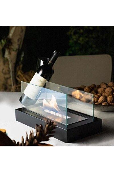 SSCONCEPT Masa Üstü Dekoratif Lüx Mini Şömine