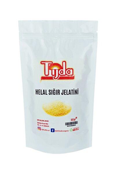 TİJDA Toz Sığır Jelatin ( % 100 Saf Sığr Domuz Içermez) 100 gr Helal Sertifikalı