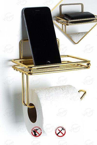 vipgross Gold Yedekli Tuvalet Kağıtlık Vg714