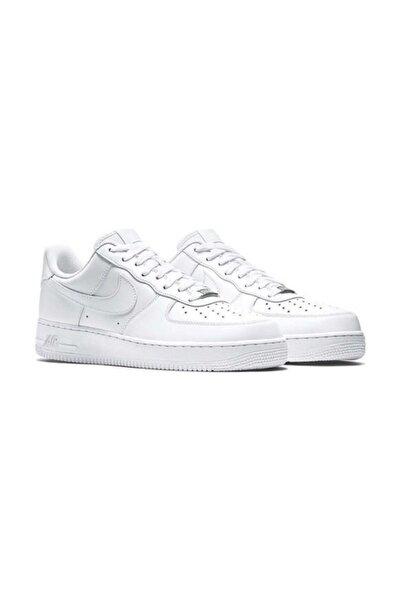 Nike Air Force 1 Beyaz Erkek Günlük Spor Ayakkabı