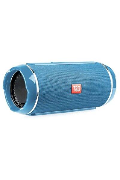 POWERWAY Orjinal Wrx 05 Speaker Bluetooth/fm Radyo Ses Bombası Mavi