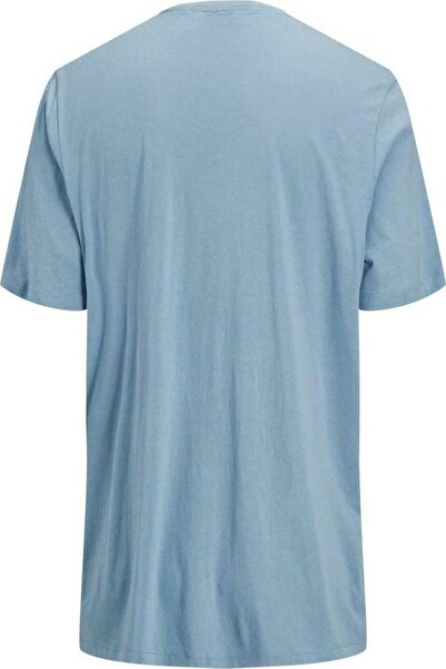Jack & Jones Erkek Mavi T-shirt