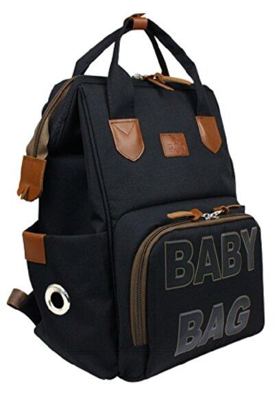 Stylo Monaco Baby Bag Baskılı Anne Bebek Bakım Sırt Çantası