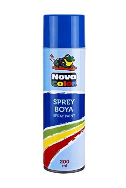 Nova Color 200ml Mavi Sprey Boya Nc-802