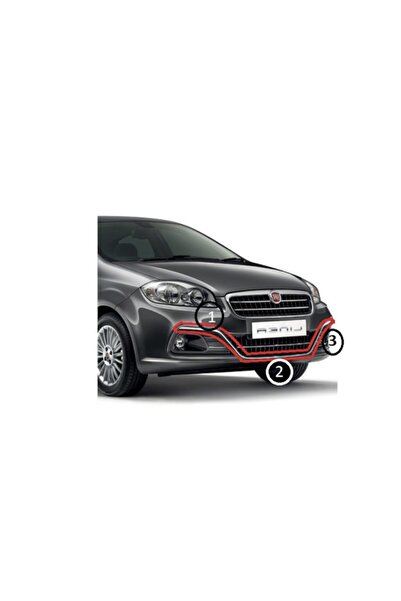 Fiat Linea (2007-2016) Linea Urban Ön Tampon Krom Çıta Takım