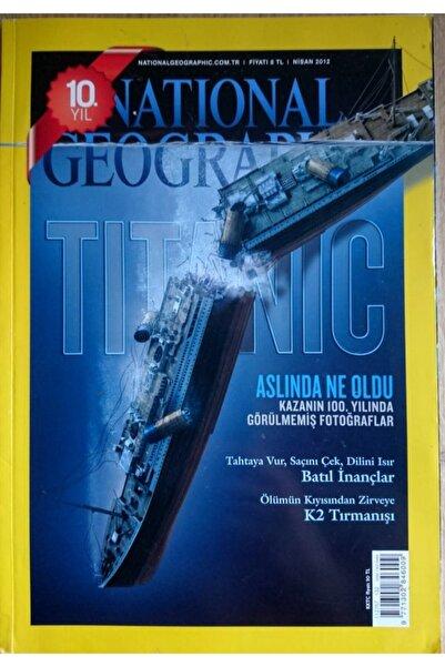 NATIONAL GEOGRAPHIC Türkiye - Aylık Dergi (nisan 2012)