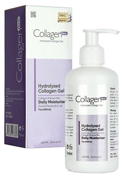 Collagen Forte Hydrolyzed Yüz ve Vücut Jeli 250 ml