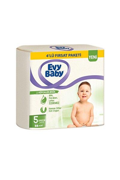 Evy Baby Bebek Bezi 5 Beden Junior 4'lü Fırsat Paketi 96 Adet Yeni