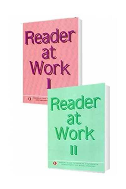 ODTÜ Geliştirme Vakfı Yayıncılık Reader At Work 1 + 2 Full Set Odtü Yayınları
