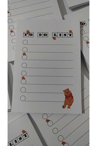 KUDRETOĞLU KIRTASİYE Not Defteri A6 50 Sayfa Winnie The Pooh (kudretoğlu K.)
