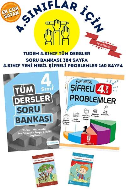 Tudem Yayınları 4.sınıflar Için Tudem 4.sınıf Tüm Dersler Soru Bankası + 4.sınıf Gıcır Gıcır Muhteşem 7'li Set