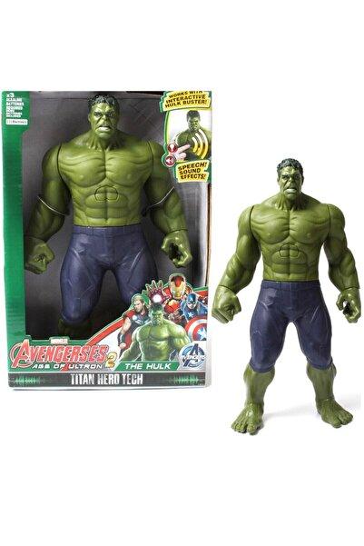 Rüzgar Oyuncak Hulk Pilli Sesli Işıklı Dev Figür 30cm