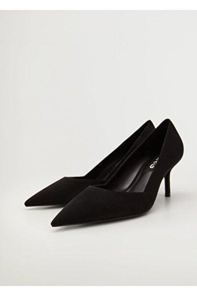 MANGO Woman Ucu Sivri Pumps Ayakkabı