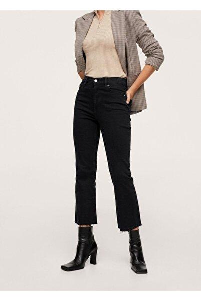 MANGO Woman Yüksek Belli Bootcut Jean