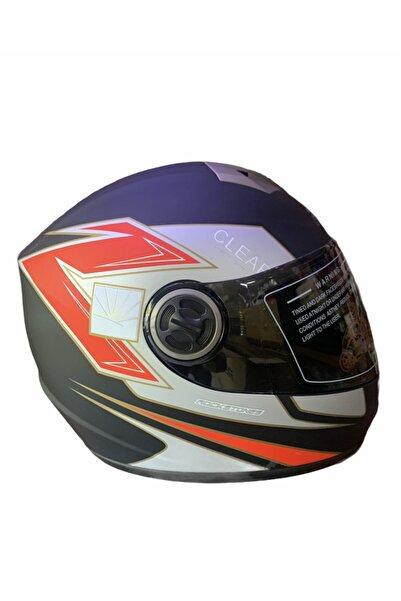 Free-M Fr-012 Full Face Motorsiklet Kaskı ( Siyah Vizörlü )